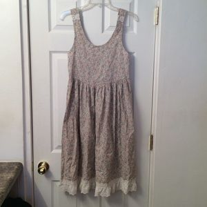 VINTAGE prairie dress!